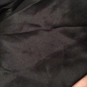 Betsey Johnson Dresses - Betsey Johnson solid black silk mini dress 6
